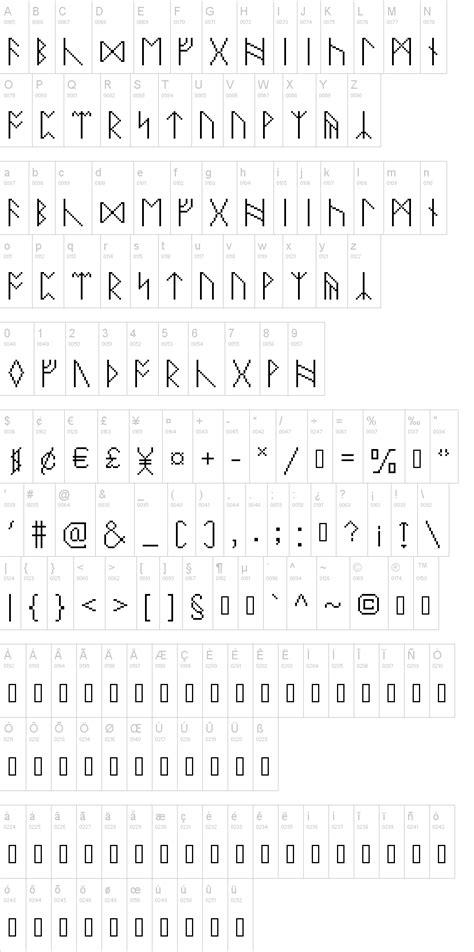 dafont runes pixelrunes font dafont com