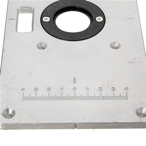 benching 4 plates 235mm x 120mm x 8mm aluminum router table insert plate for