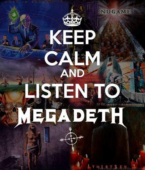 megadeth endgame lyrics keep calm and listen to megadeth way better than