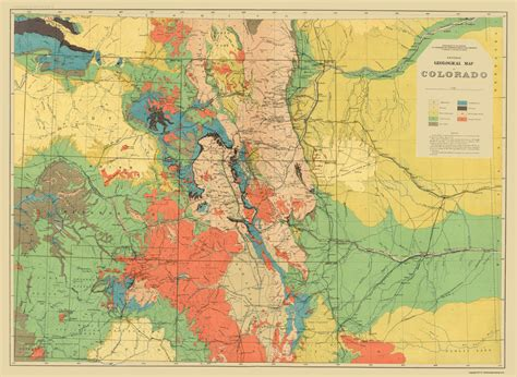 geologic map colorado historical topographical maps colorado geological co