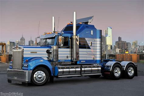 kw t900 blanch transport kenworth t900 klos custom trucks