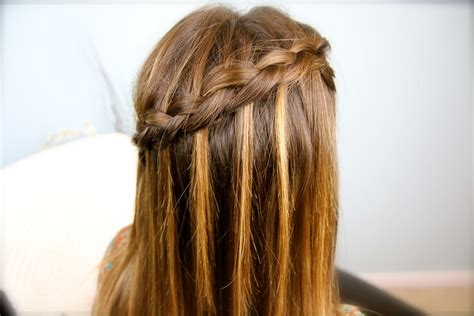 hairstyles how to do a waterfall waterfall braids cute girls hairstyles page 2