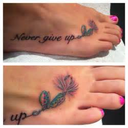 Never give up tattoo with fishing hook. | Fishin' with ...