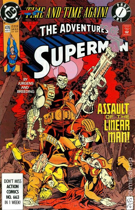 Time And Time Again adventures of superman 1987 comic books 1991