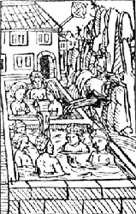 História.docs: Banhos na Idade Média