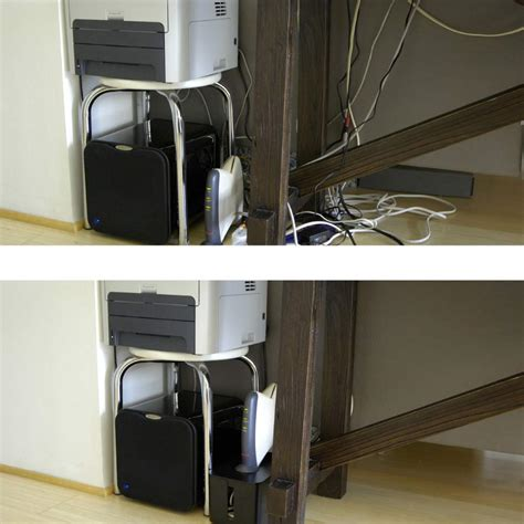 cable rack for desk under desk cable management ideas medium size of