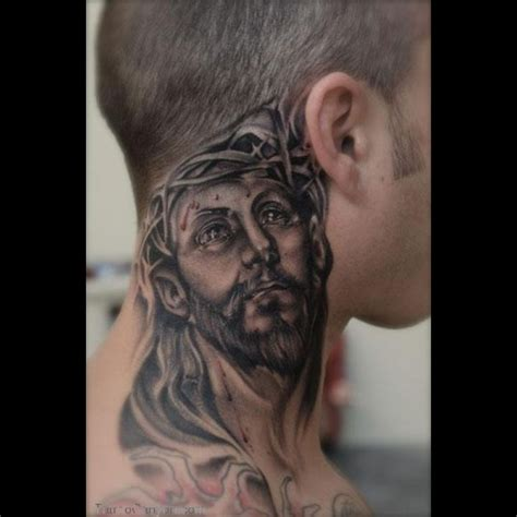 tattoos on the neck for men free designs archive neck tattoos