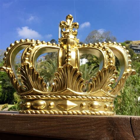 king home decor crown wall decor home royal king princess prince gold only one ebay