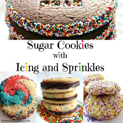 How To Decorate Sugar Cookies With Sprinkles by 25 Cookies With Sugar And Sprinkles The Monday Box