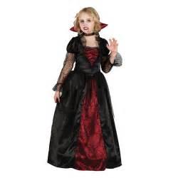 girls wicked queen vampire princess halloween kids fancy
