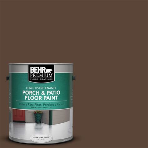behr premium 1 gal n150 7 chocolate therapy low lustre