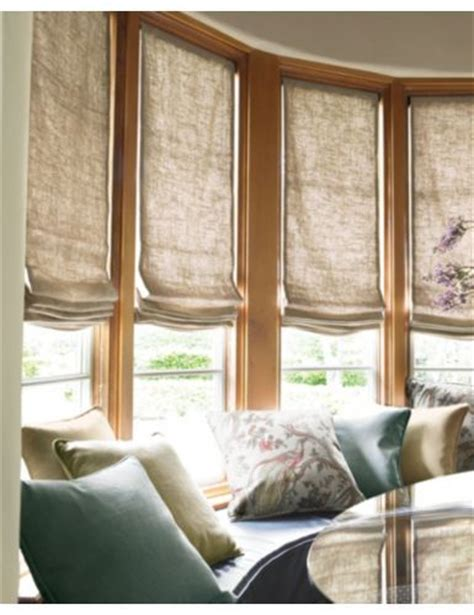 smith noble curtains smith noble relaxed roman fabric shades in linen