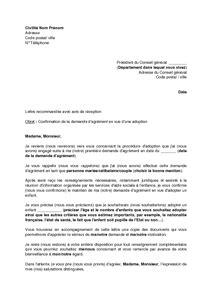 Confirmation De Stage Lettre Exemple Gratuit De Lettre Confirmation Demande Agr 233 Ment