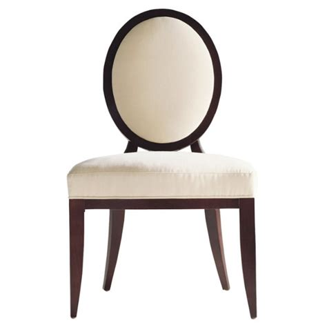 Barbara Barry Dining Chair Baker Barbara Barry Oval X Back Dining Side Chair