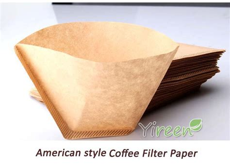 How To Make Coffee Paper - 100pcs thickened primary color 102 coffee filter paper