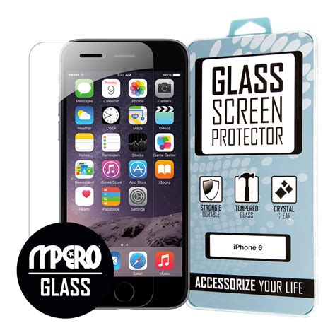 apple iphone 6 iphone 6s glass screen protector accessoryexport