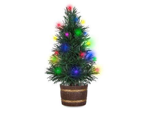 small led christmas tree usb mini x tree 30cm illuminated fibre light colourful led ebay