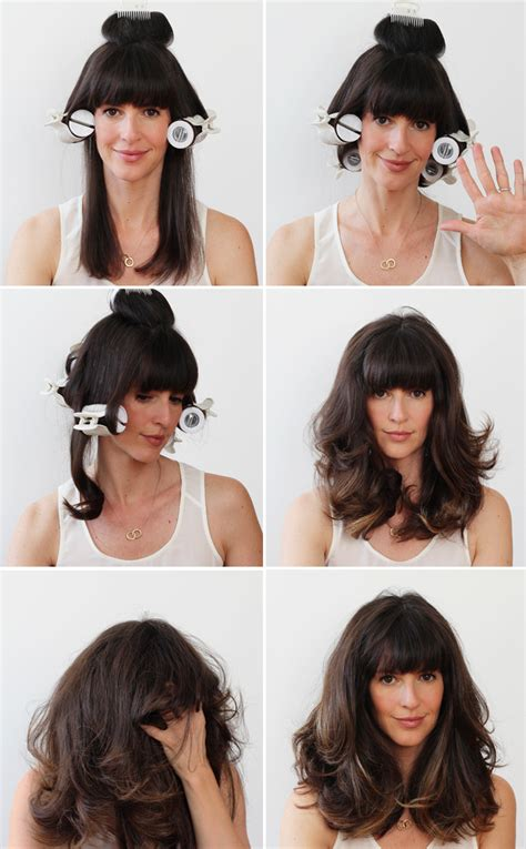 how to get texture and volume at crown hairstyle hot roller how to whoorl