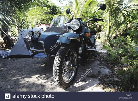 Motorrad Mit Beiwagen Autobahn by Side Car Motorcycle Stockfotos Side Car Motorcycle