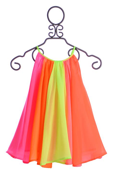 Labella Pink Top Dress halabaloo neon rainbow dress for 1