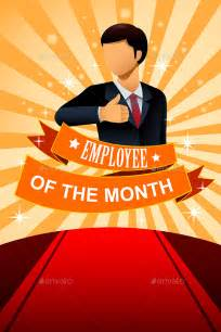 Employee Of The Month Poster Template by Employee Of The Month Poster Frame By Artisticco