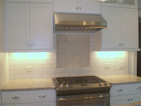 large subway tile backsplash killer large subway tile