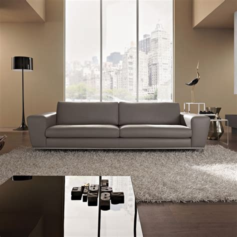 Grey Leather Sofa Modern Italian Designer Leather Sofa Sofa Design