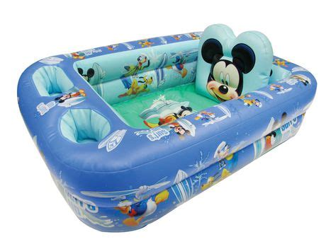 sesame street inflatable bathtub disney mickey mouse inflatable bath tub walmart canada