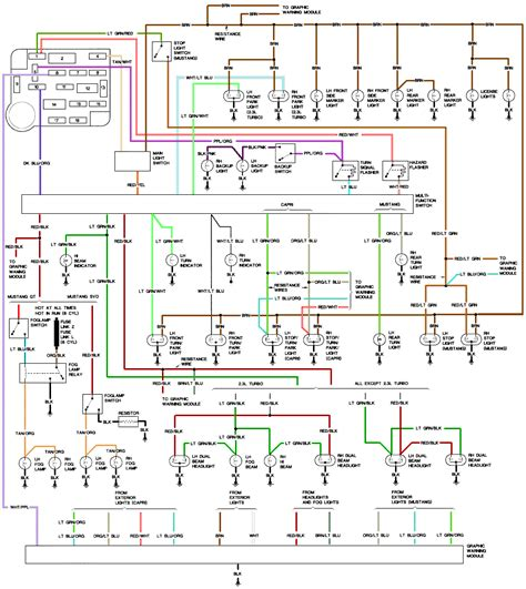 86 mustang engine wiring diagram get free image about