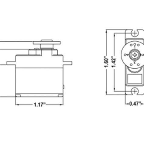 Hitech Hs 81 Standard Micro Servo Motor Gear Hitec Hs 81 Standard Micro Servo