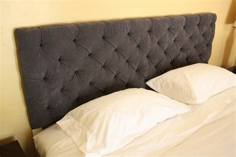 Diy Button Tufted Headboard Tutorial Hobby Lesson