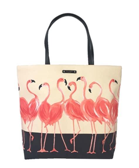 Kate Spade Tote Flamingo kate spade take a walk on the side bon shopper tote flamingo flock