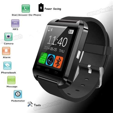 Smartwatch U U8 free shipping bluetooth smart u8 wrist u smartwatch for android phone smartwatch in