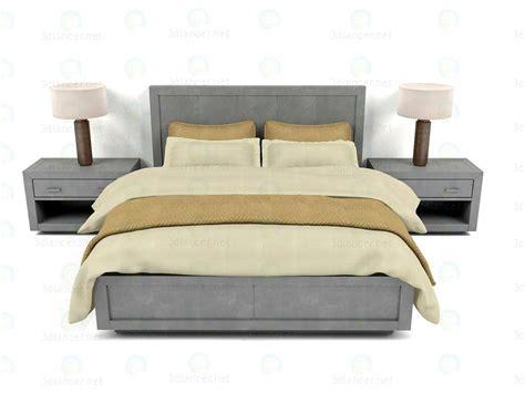 3d bed 3d model bed la salle metal wrapped collection rh download to 3dlancer net