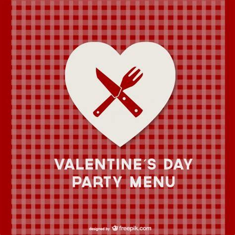 Kitchen Design Minimalist by Valentine S Day Menu Template Vector Free Download