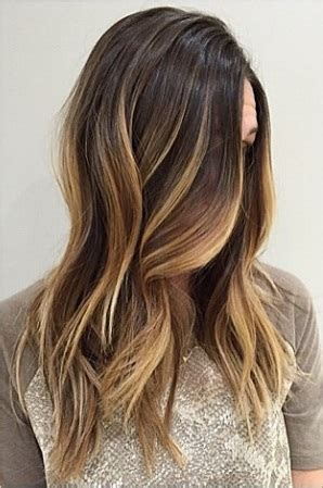 rooty brunette ombre hair color – mane interest