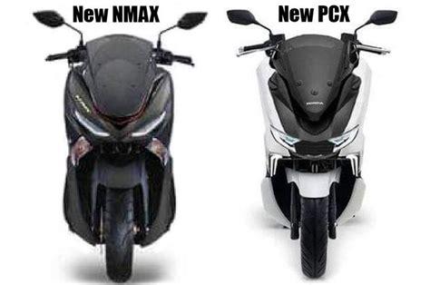 nmax   pcx dikomparasi lebih keren  canggih