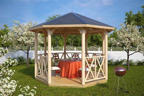 octagonal gazebo octagonal gazebo uk lotte l 9 5m 178 3 5 x 3 5 m summer