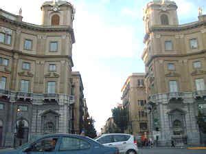 banco di sicilia via roma palermo itinerario monumentale di via roma a palermo