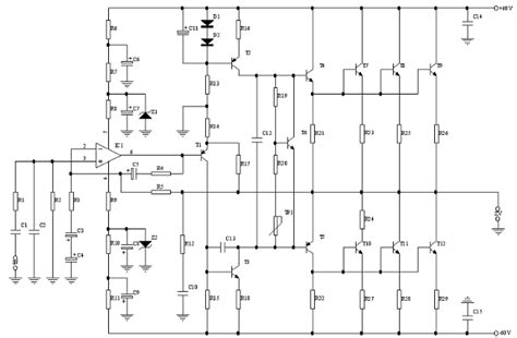 300 Watt Lifier Circuit Diagram by 300w Power Supply Schematic 430w Power Supply Elsavadorla