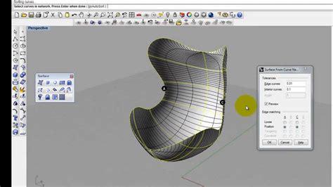 tutorial video rhino egg chair tutorial in rhino 3 youtube