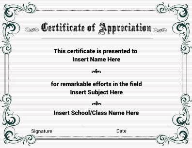 editable certificate of appreciation template certificate of appreciation with floral theme fully it is