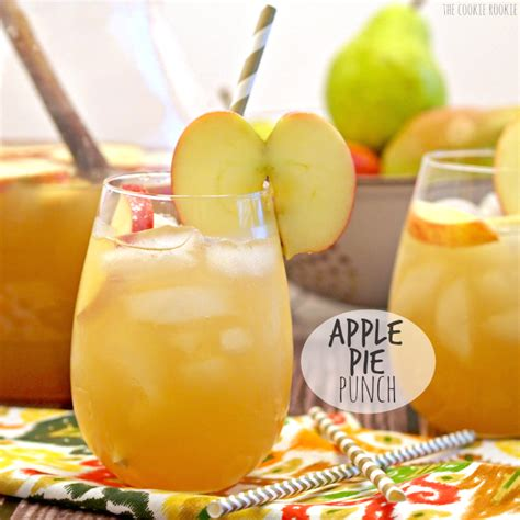 apple pie punch   drink  thanksgiving