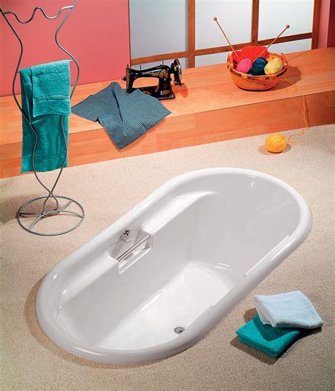 vasche da bagno ovali sound vasca ovale 190 x 97 incasso