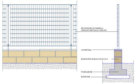 ringhiera dwg recinzioni dettagli dwg