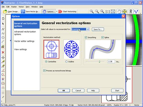 vector software dxf eps linux software raster to vector