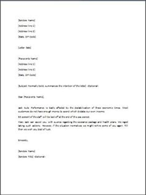 Proof Of Layoff Letter A Greeting Letter Is A Way Of Welcoming Someone New To Your Neighborhood Or Community It Can