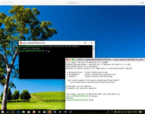 tutorial telnet ubuntu tutorial aceda ao windows 10 remotamente via ssh