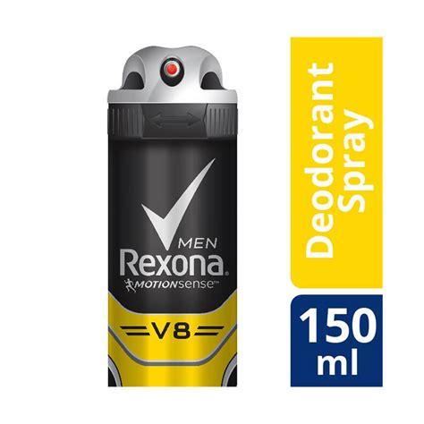 Deodoran Spray Pria Rexona jual rexona anti perspirant deodorant spray v8 150 ml