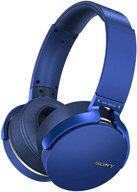 Headset Sony Mdr Xb950bt sony blue bass bluetooth headphones mdr xb950bt l
